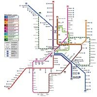 Kuala Lumpur komunikacja miejska mapa
