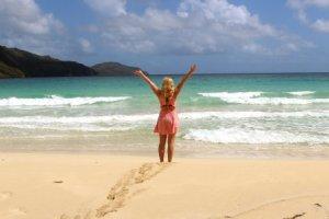Dominikana, plaża Playa Rincon