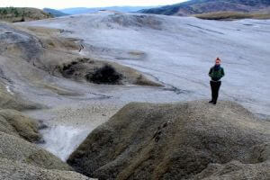 Rumunia wulkany błotne