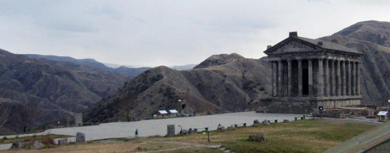 Armenia świątynia Garni
