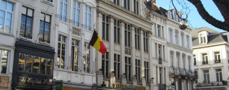 Belgia - centrum Brukseli