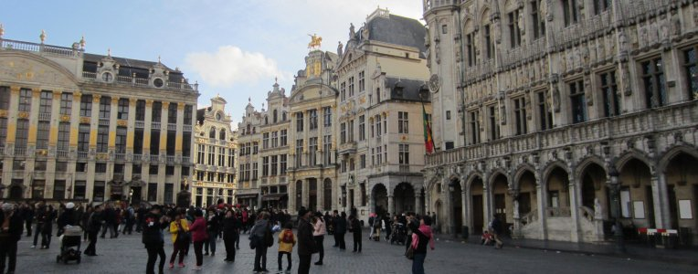 Starówka w Brukseli