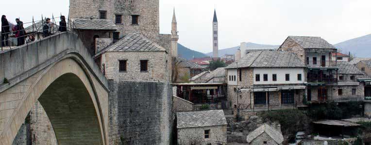 Mostar - zabytkowy most