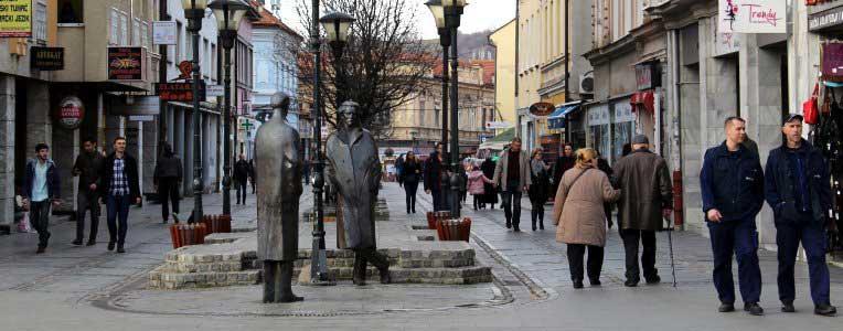 Centrum Tuzli, Bośnia i Hercegowina