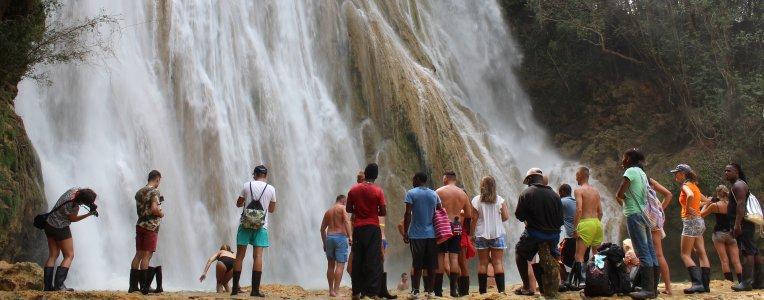 Wodospad El Limon w Dominikanie
