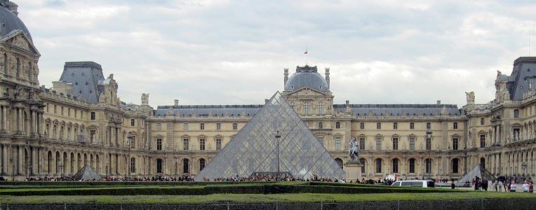 Francja Paryż Luwr