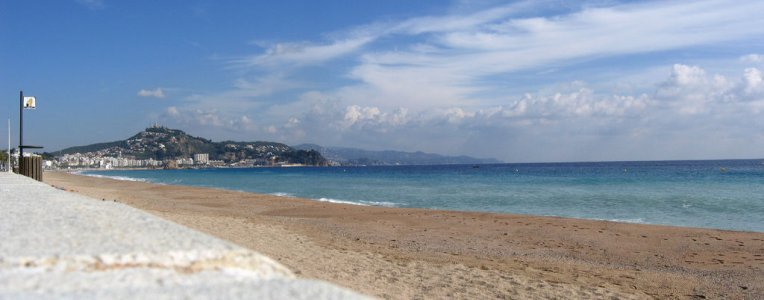Jedna z plaż na Costa Brava