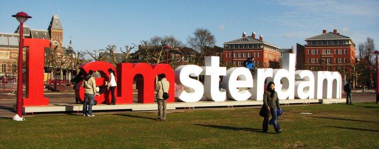 Amsterdam, stolica Holandii