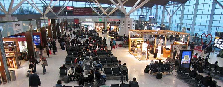 dojazd do centrum Delhi z lotniska