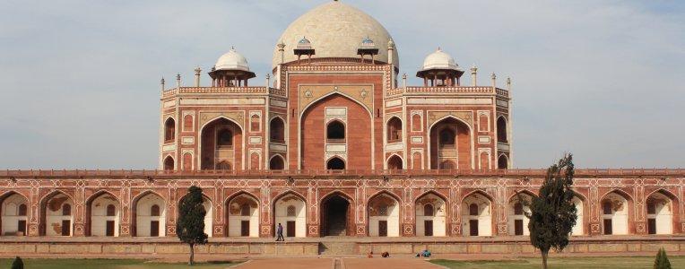 Delhi - grobowiec