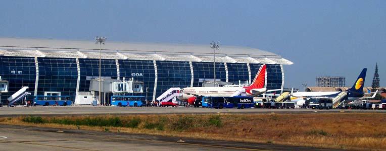 Lotnisko w Goa