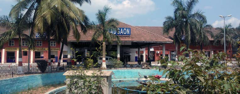 Dworzec kolejowy Madgaon (Margao) Goa
