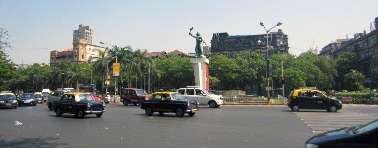 Bombaj, centrum, niedaleko dworca Królowej Wiktorii
