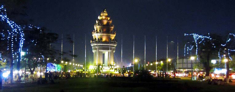 Phnom Penh Independence Monument