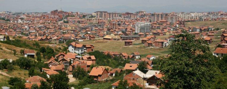 Prisztina panorama