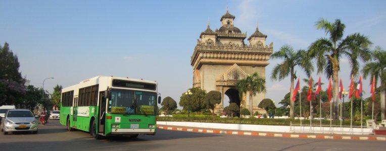 Laos, centrum Vientianu