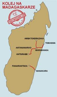Kolej na Madagaskarze