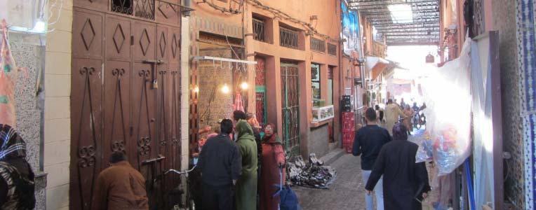 Maroko, bazar