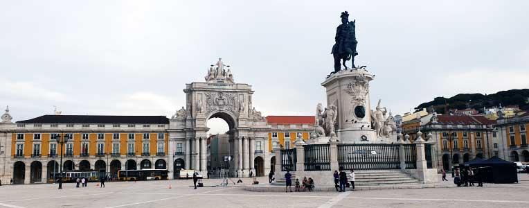 Portugalia, Lizbona, Arco da Rua Augusta