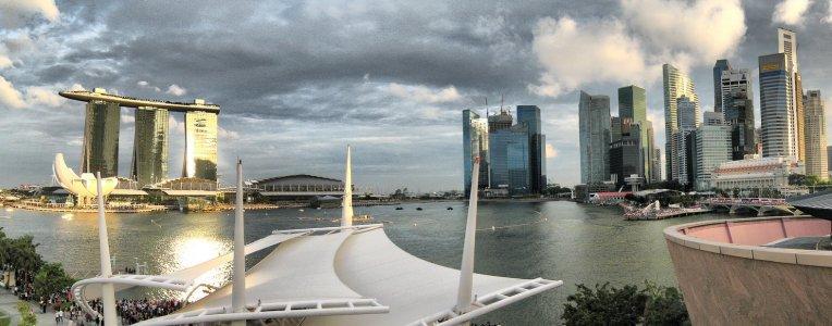 Singapur - panorama