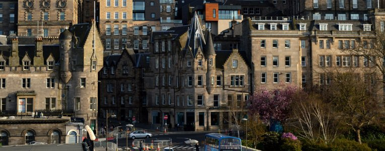 Edynburg - stare miasto