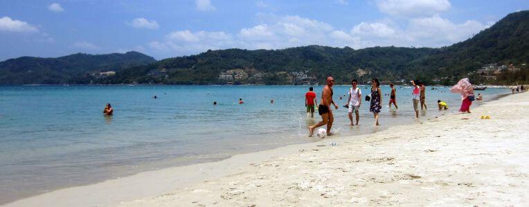 Phuket, jedna z plaż