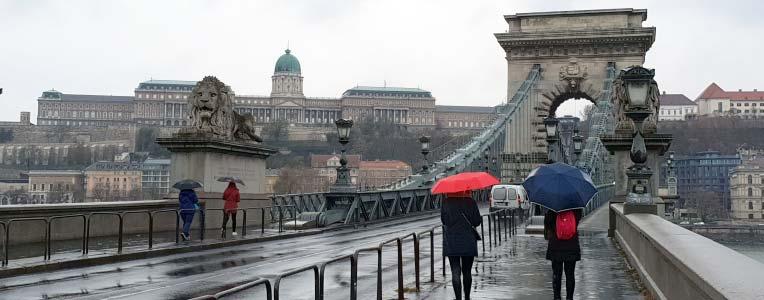 Węgry - panorama Budapesztu
