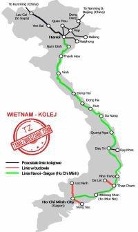 Kolej w Wietnamie