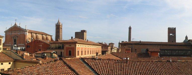 Panorama Bolonii