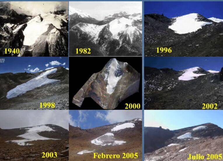 lodowiec Chacaltaya