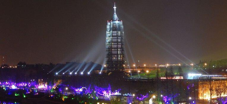 Porcelanowa Wieża w Nankinie