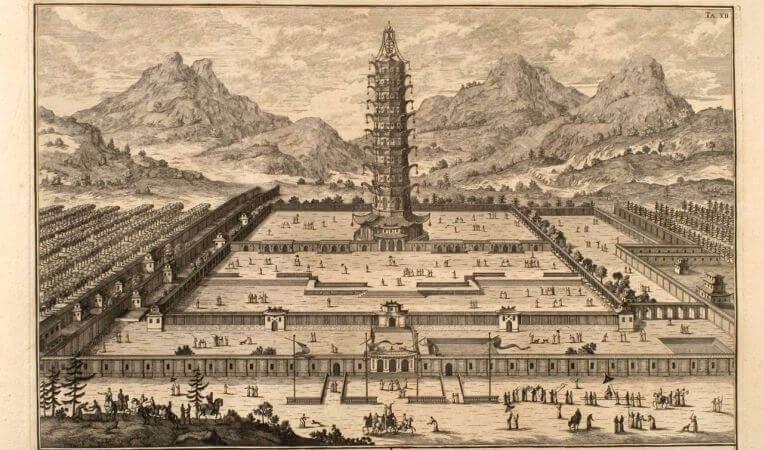 Porcelanowa Pagoda w Nankinie