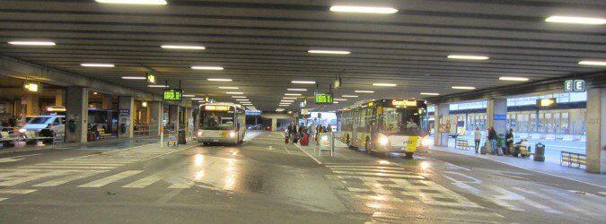 Bruksela dojazd z lotniska