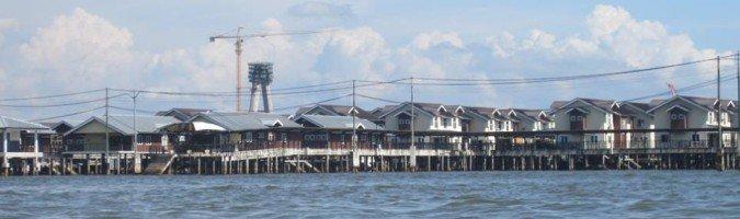 Brunei - miasteczko Kampong Ayer