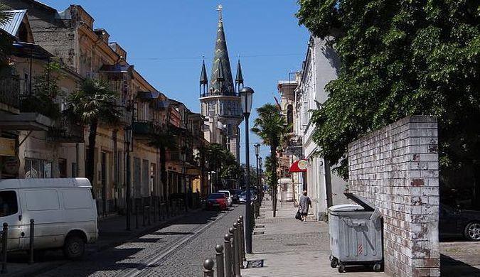 Jedna z uliczek w Batumi