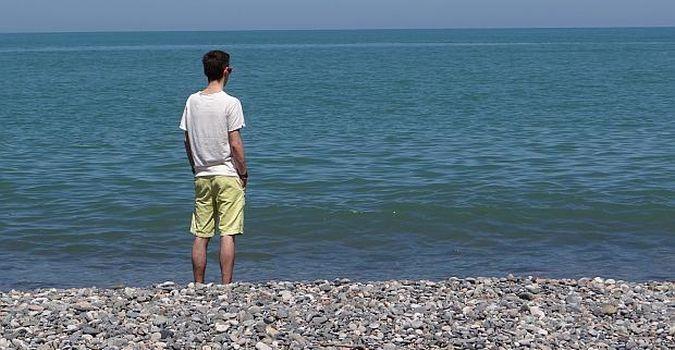 Plaża w Gruzji