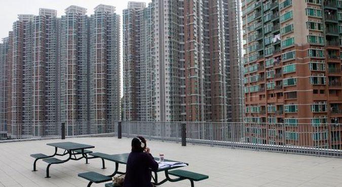 Blokowiska w Hong Kongu