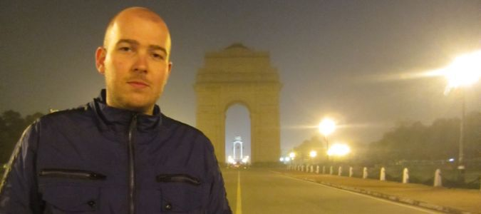 India Gate w Delhi