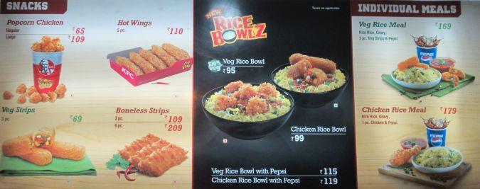 KFC w Indiach