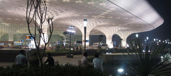 Lotnisko w Bombaju
