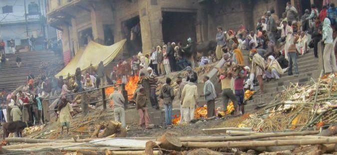 Varanasi - Manikarnika Ghat