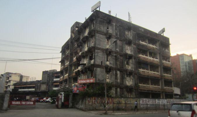 budynki w Mumbaju