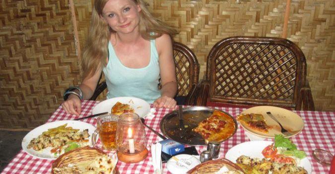 Jedzenie na Palolem