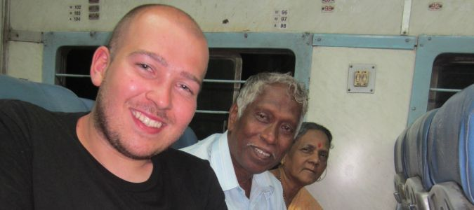 W pociągu do Mumbaju