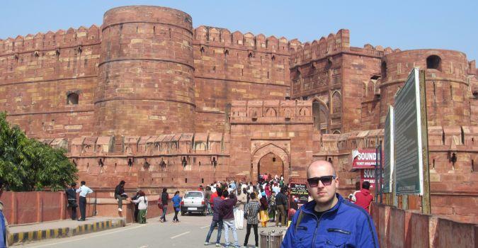 Czerwony Fort w Agrze