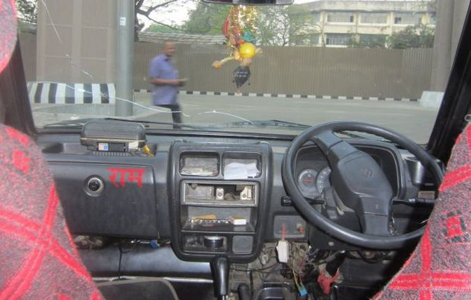 Taksówka w Mumbaju
