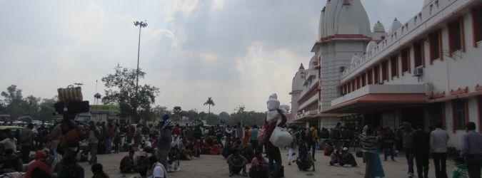 Dworzec w Varanasi