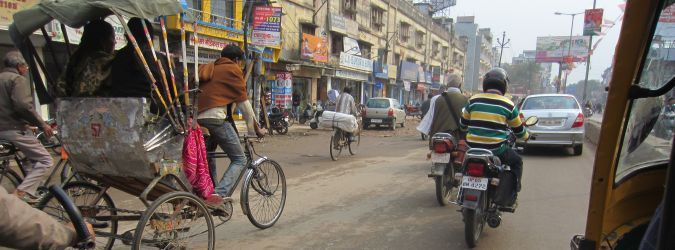 Ruch uliczny w Varanasi