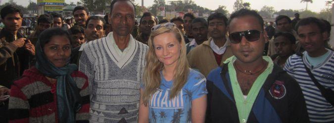Ludzie w Varanasi