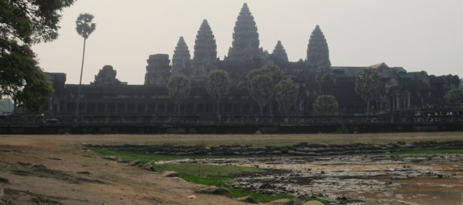 Angkor Wat w Kambodzy